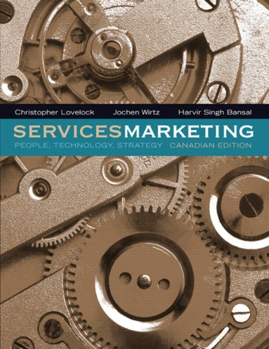 9780131879287: Services Marketing: People, Technology, Strategy, Canadian Edition