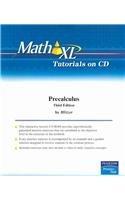 9780131880436: MathXL Tutorials on CD for Precalculus