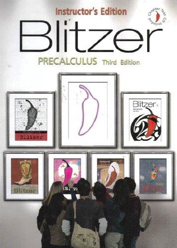 9780131880450: Blitzer Precalculus - Instructor's Edition