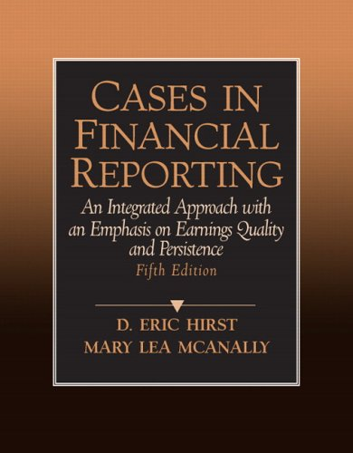 9780131881204: Cases in Financial Reporting (5th Edition)