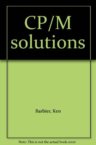 9780131881860: CP/M solutions