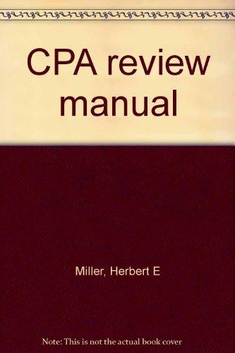 9780131882010: CPA review manual