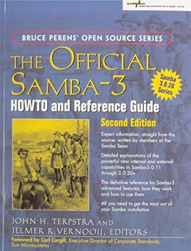 9780131882225: The Official Samba-3 HOWTO and Reference Guide, 2nd Edition