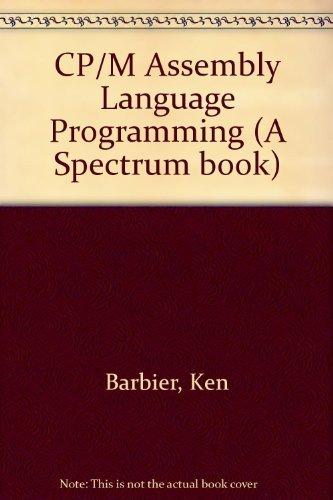 9780131882508: CP/M Assembly Language Programming