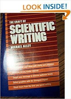 9780131884267: Craft of Scientific Writing