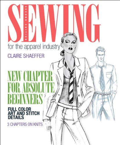 9780131884434: Sewing for the Apparel Industry (Fashion)