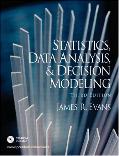 9780131886094: Statistics, Data Analysis and Decision Modeling (3rd Edition)
