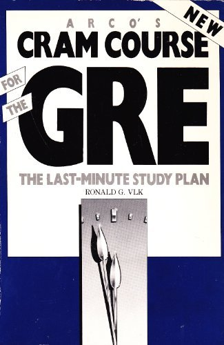 9780131886810: Cram Course for the Graduate Record Examination