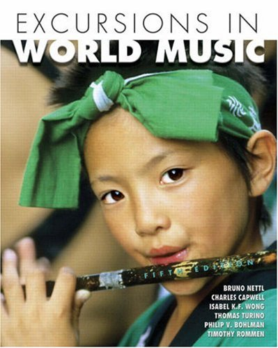 9780131887855: Excursions in World Music (5th Edition)