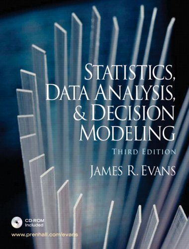 9780131888104: Statistics, Data Analysis, and Decision Modeling and Student CD (3rd Edition)
