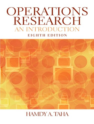 9780131889231: Operations Research: An Introduction (8th Edition)