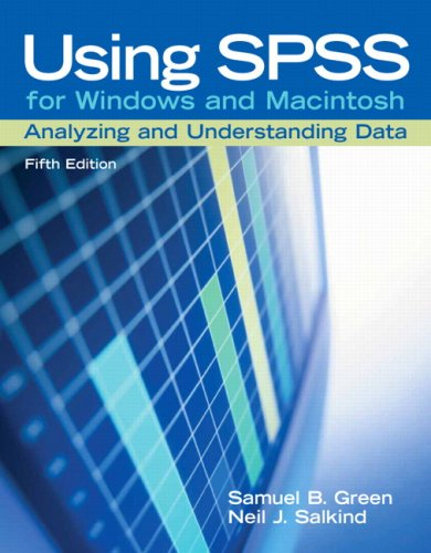 9780131890251: Using SPSS for Windows and Macintosh: Analyzing and Understanding Data