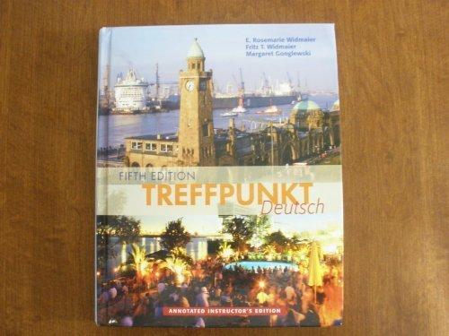 9780131890428: TREFFPUNKT DEUTSCH (ANNOTATED INSTRUCTOR'S EDITION)
