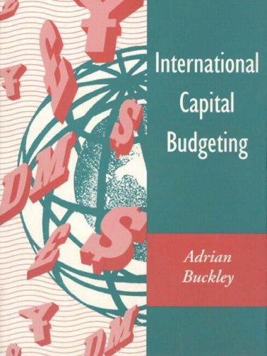 9780131890602: International Capital Budgeting