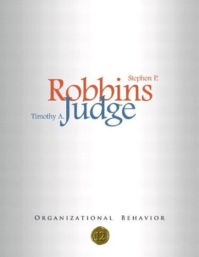 9780131890954: Organizational Behavior, 12th Edition (Book & CD-ROM)