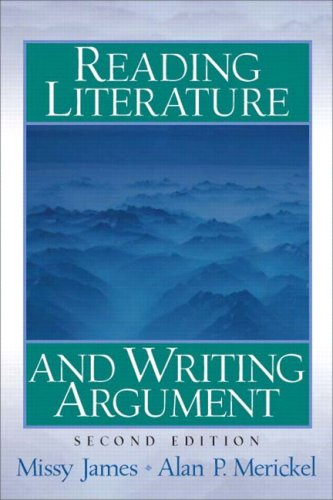 9780131891098: Reading Literature and Writing Argument