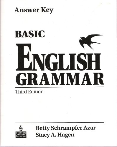 9780131891210: Basic english grammar 3/e answer key