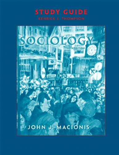 9780131891234: Sociology: Study Guide