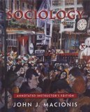 9780131891241: Sociology: Annotated Instructor's Edition