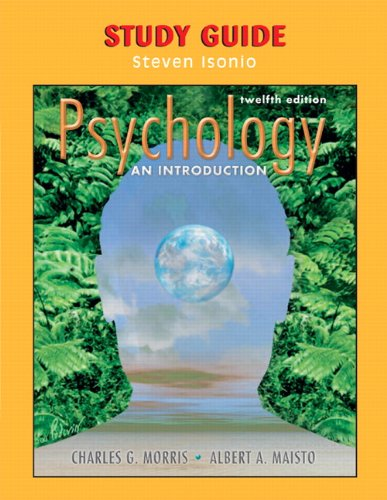 9780131891487: Study Guide to Psychology: An Introduction, 12/e