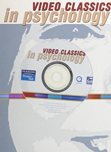 9780131891548: Psychology CD Vid Classics VP