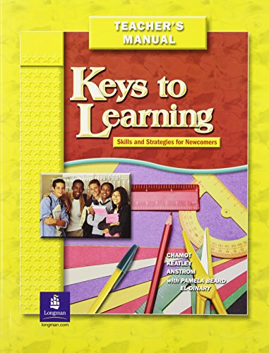 9780131892224: KEYS TO LEARNING TEACHERS GUIDE WITH TESTS