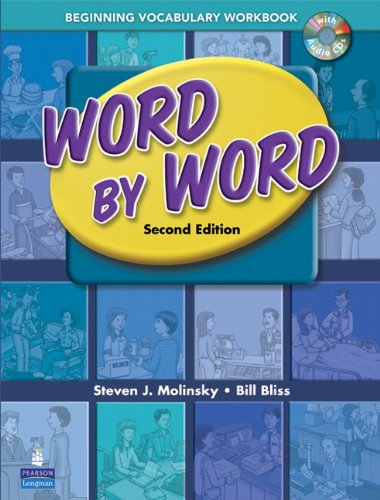 9780131892293: Word by Word Picture Dictionary Beginning Vocabulary Workbook with Audio CD
