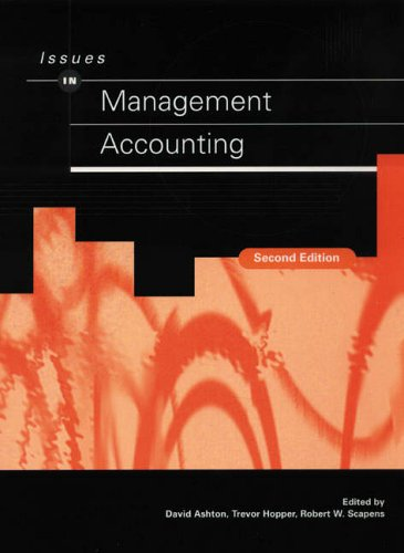 9780131892507: Issues in Management Accounting