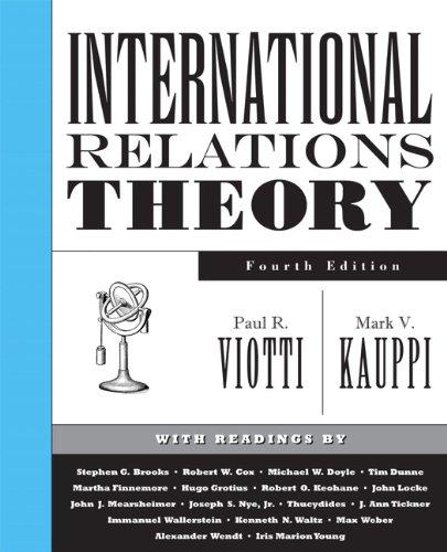9780131892613: International Relations Theory