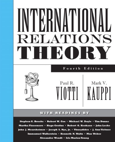9780131892613: International Relations Theory (4th Edition)