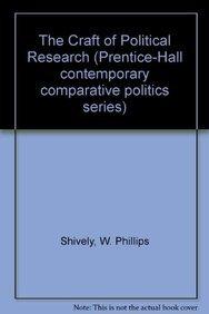 9780131892835: The Craft of Political Research (Prentice-Hall Contemporary Comparative Politics Series)