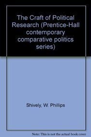 9780131892835: The Craft of Political Research (Prentice-Hall Contemporary Comparative Politics Series)