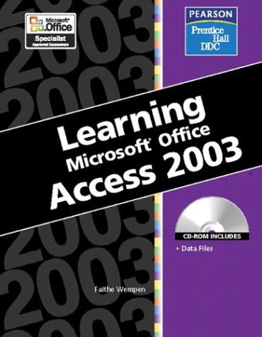 9780131893238: Learning: Microsoft Access 2003
