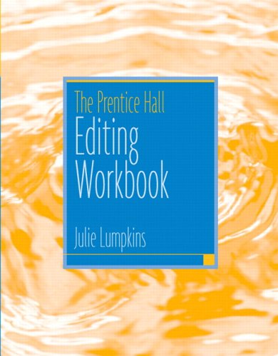 9780131893528: The Prentice Hall Editing Workbook