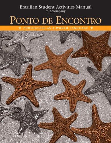 9780131894082: Ponto de Encontro, Brazilian Student Activities Manual: Portuguese as a World Language: Brazilian Activities Manual
