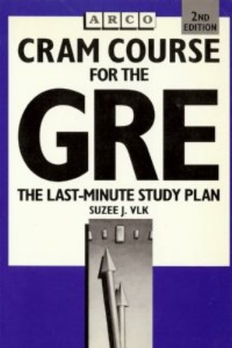 9780131894402: Cram Course for the GRE (GRE Cram Course)