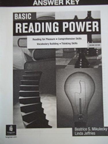 9780131895089: Basic Reading Power Answer Key