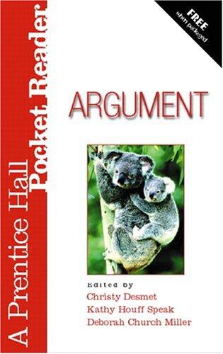 9780131895256: Argument: A Prentice Hall Pocket Reader
