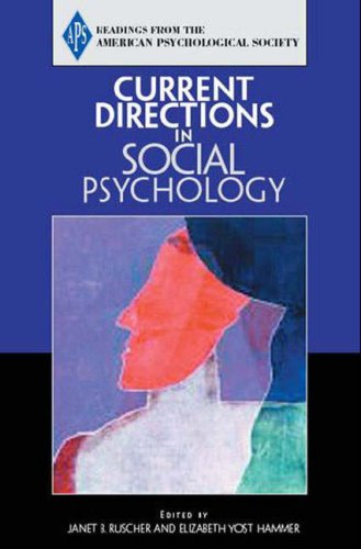9780131895836: Current Directions in Social Psychology