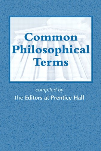 9780131896611: Common Philosophical Terms