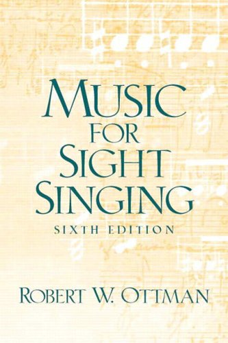 9780131896628: Music for Sight Singing