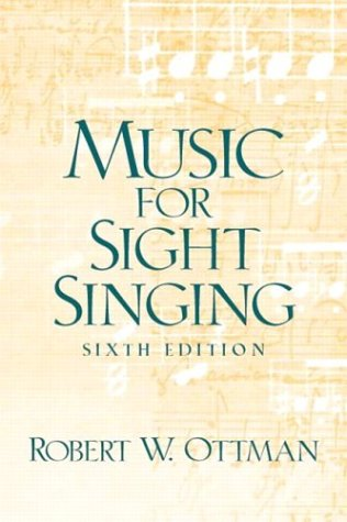 9780131896628: Music for Sightsinging (6th Edition)