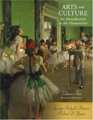 9780131899131: Arts and Culture: An Introduction to the Humanities, Volume II (2nd Edition)