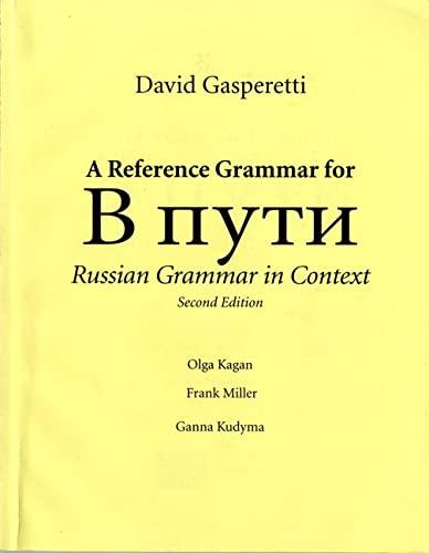 9780131899216: Reference Grammar for V Puti
