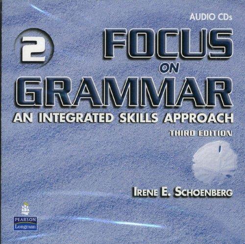 9780131899773: Focus on Grammar 2, Audio CDs (2)