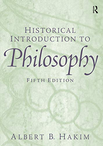 9780131900059: Historical Introduction to Philosophy