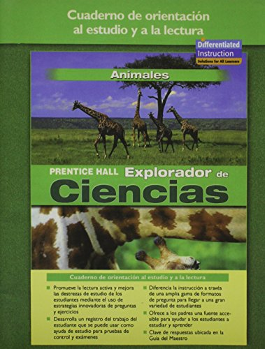 9780131900219: SCIENCE EXPLORER ANIMALS SPANISH GUIDED READING AND STUDY WORKBOOK 2005