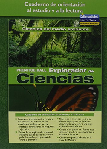 9780131900240: SCIENCE EXPLORER ENVIRONMENTAL SCIENCE SPANISH GUIDED READING AND STUDY WORKBOOK 2005
