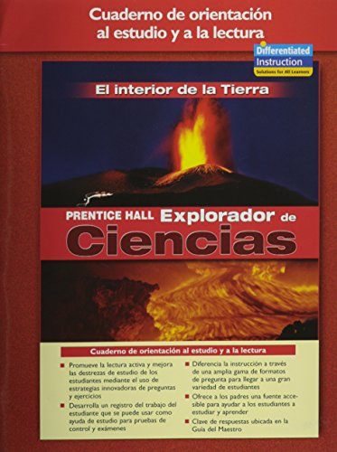 9780131900257: SCIENCE EXPLORER INSIDE EARTH SPANISH GUIDED READING AND STUDY WORKBOOK 2005