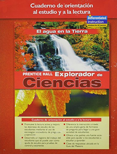 PRentice Hall Science Explorer EArth's Water Guided Reading and Study Workbook Spanish Edition...
